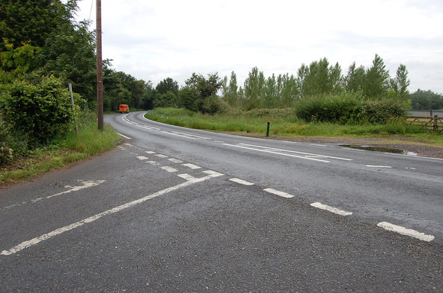 Junction of Rosemary Lane with A21