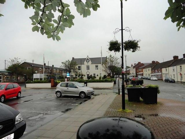 Ferryhill town centre