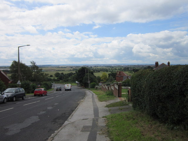 Brierley Road towards Grimethorpe
