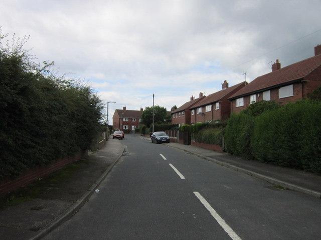 Hillside Crescent off Brierley Road