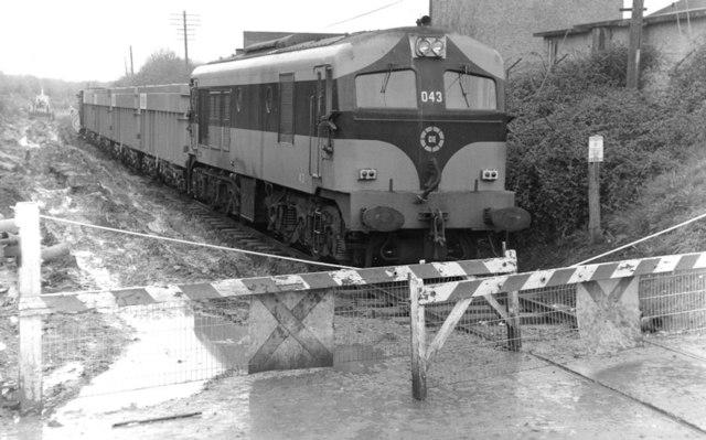 Tara Mines train near Navan Jct