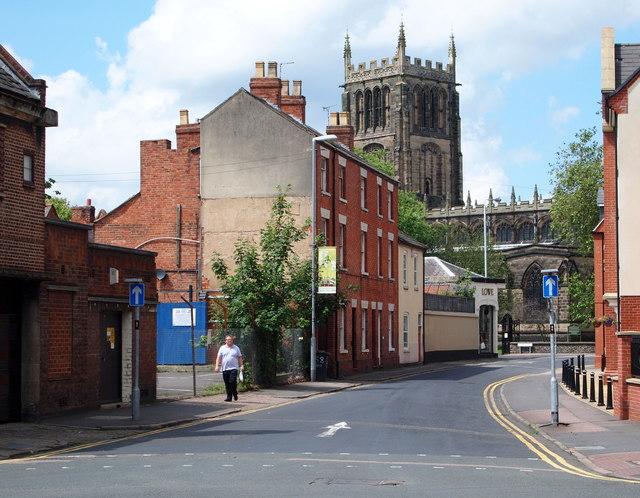 Loughborough, Leics (Parish Church Area)
