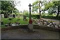 SD7410 : War memorial, Harwood by Bill Boaden