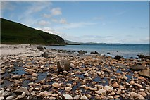 NR4658 : Mouth of Allt a' Ghlinne Dhuibh, Islay by Becky Williamson