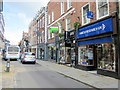 SJ4912 : Cancer Research UK Shop High Street Shrewsbury by Roy Hughes
