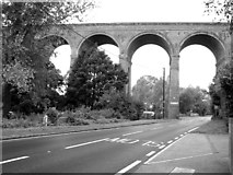 TL8928 : The Chappel viaduct at Wakes Colne by Evelyn Simak