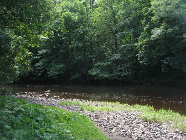 The Avon Water at Chatelherault