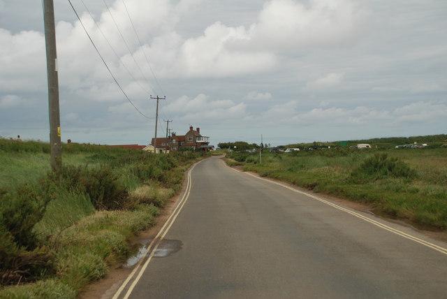 Brancaster Tidal Road