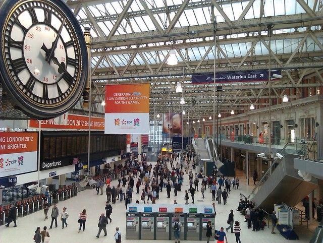 Waterloo station: concourse gallery development