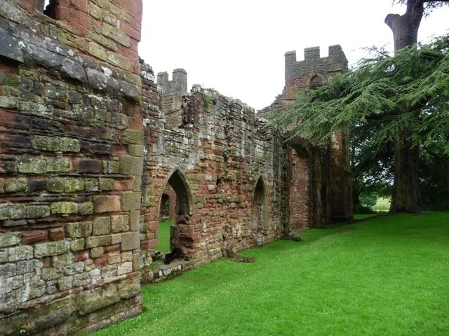 South side, Acton Burnell Castle