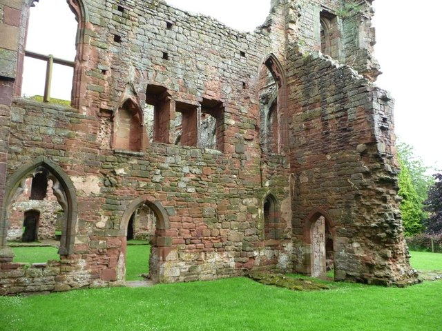 North-east corner, Acton Burnell Castle