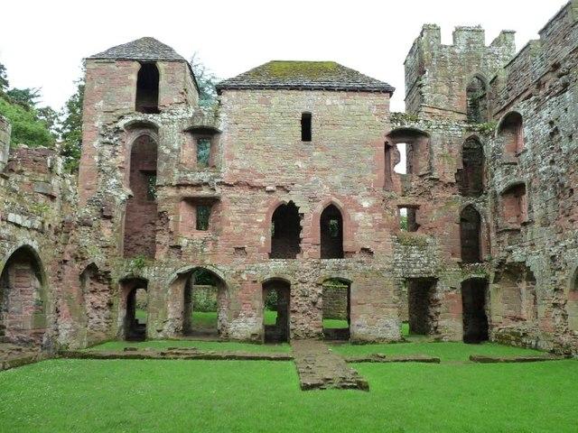 East side, Acton Burnell Castle