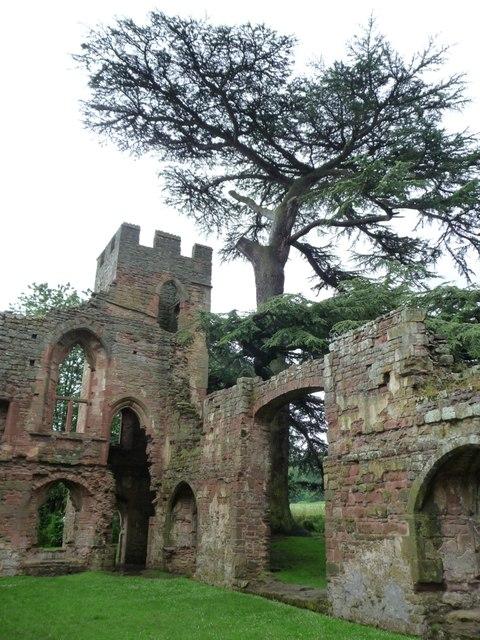 South-east turret, Acton Burnell Castle