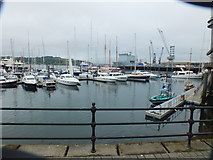SW8132 : Falmouth Inner Harbour by Raymond Cubberley
