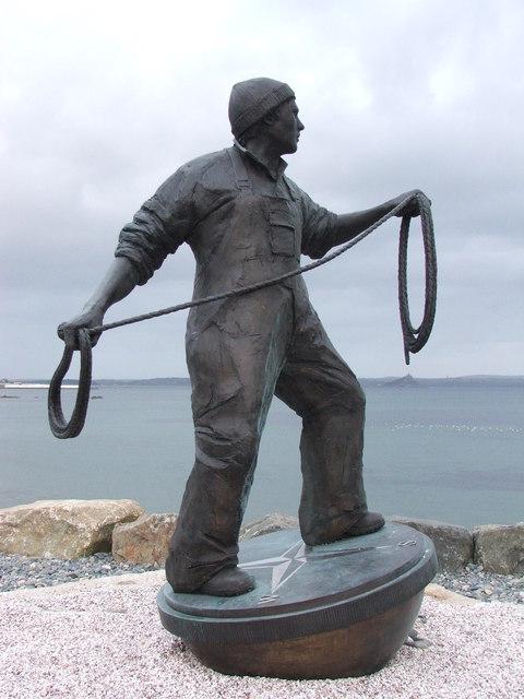 Fishermen memorial Newlyn