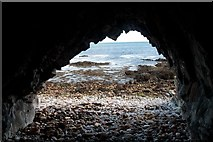 NR4659 : Natural Arch at Rubh' a' Phuill, Islay by Becky Williamson