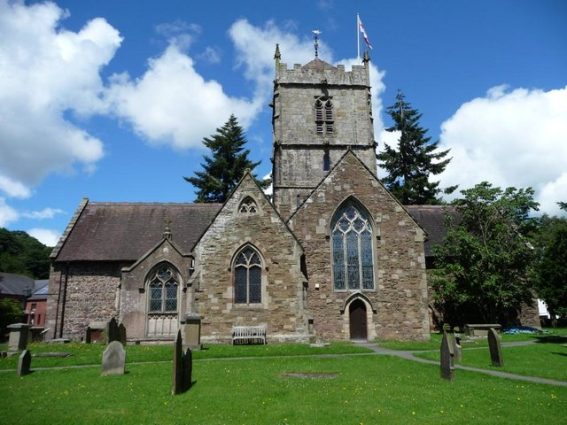 St Lawrence's church and churchyard
