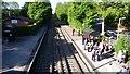 SP0073 : Barnt Green Railway Station by Mike Dodman