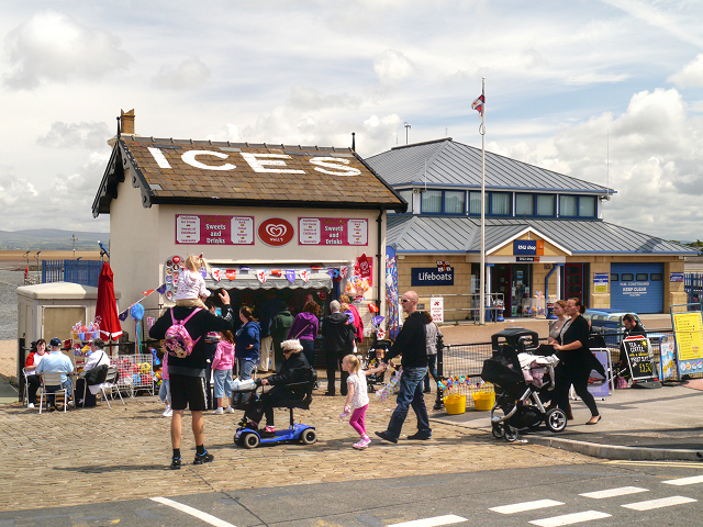 Ice Cream Stall and Lifeboat Station