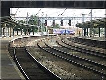 NY4055 : A Northern train arrives at Carlisle Station by Graham Robson