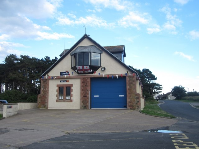 Front of Silloth Lifeboat Station