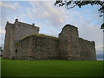 NR9057 : Skipness Castle by James T M Towill
