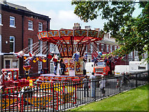 SD3347 : Carousel in St Peter's Place by David Dixon