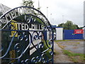 TQ0367 : Ted Mills Memorial Gate by Colin Smith