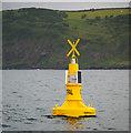 J4894 : Outfall buoy near Blackhead by Rossographer