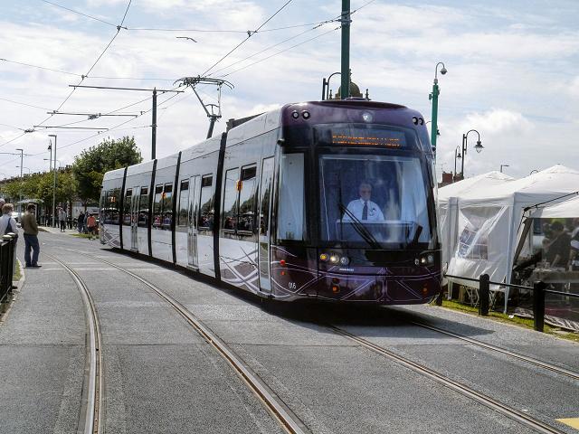 Flexity Tram on Lord Street