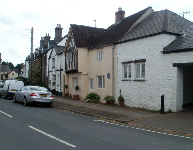 The Old House, New Market Street, Usk