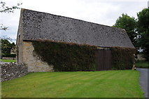 SP1726 : Barn in Upper Swell by Philip Halling