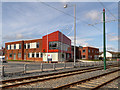 SD3247 : Fleetwood Community Fire Station by David Dixon