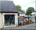 SO3700 : Ironmongers' shop and yard, Usk by Jaggery