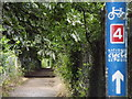 TQ0566 : National Cycle Network 4 by Colin Smith