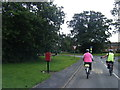 SJ3673 : Rectory Lane/Capenhurst Lane junction by Colin Pyle