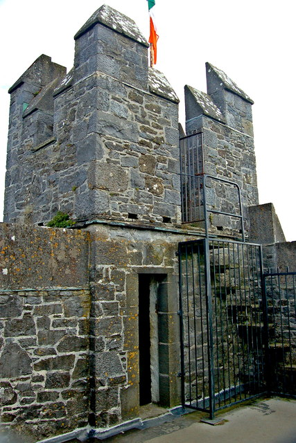 Bunratty Castle - Top of Southeast Tower