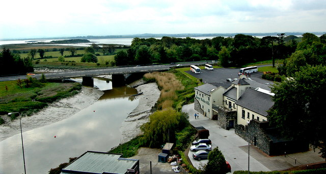 Bunratty Castle - View from Top of SE Tower