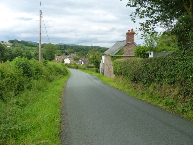 Coming into Bushmoor
