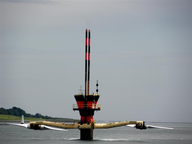 Tidal energy generator, Strangford Lough