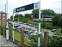 TQ3060 : The Brighton Line from Reedham station by Marathon