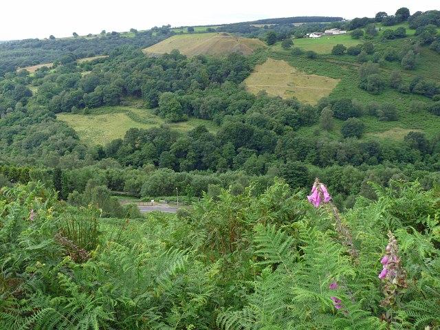 Looking across Cwm Bargoed