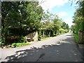 SE3541 : Private road, Bracken Park by Christine Johnstone