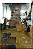 R4560 : Bunratty Castle - NE Tower-Game Preparation Room by Joseph Mischyshyn