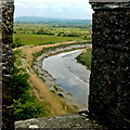 R4560 : Bunratty Castle - View from Northeast Tower by Joseph Mischyshyn