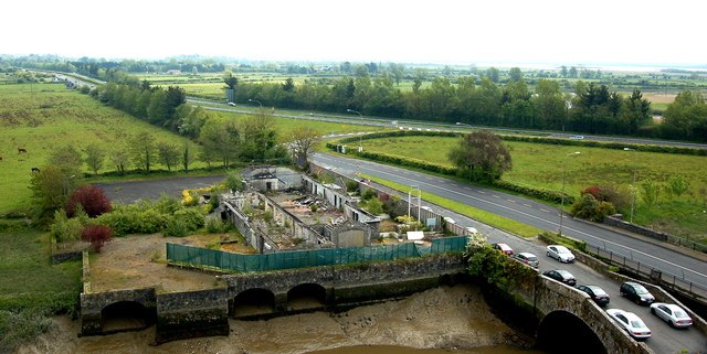 Bunratty Castle - View from Top of Northeast Tower