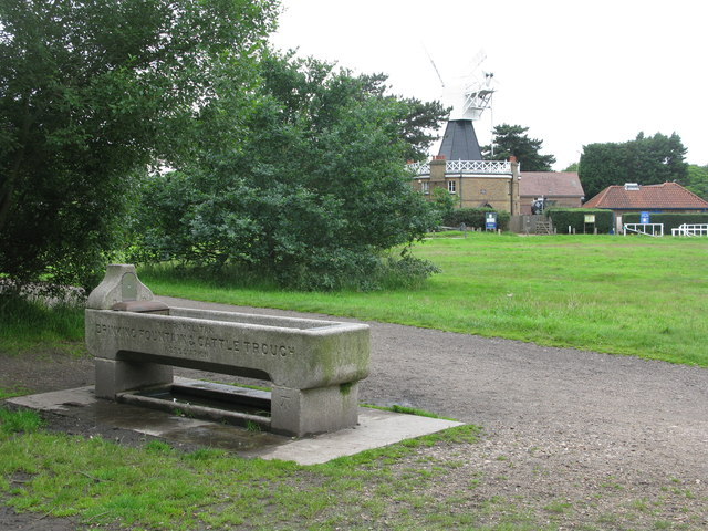 Drinking Fountain and Cattle Trough on Wimbledon Common