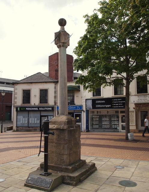Mansfield, Notts (Butter Cross)