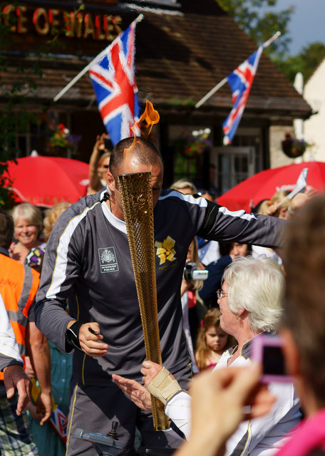 Olympic Torch Relay - Day 63 at Westcott