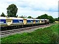 SU2763 : Aggregate train heading east, near Crofton by Brian Robert Marshall